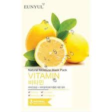 Тканевая <b>маска для лица Eunyul</b> Natural Moisture Mask Pack Vitamin