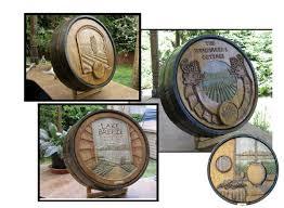 wine barrel carvings custom wine cellar design los angeles california barrel wine cellar designs