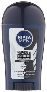 <b>Антиперспирант стик Nivea</b> Men <b>Невидимый</b> для черного и белого