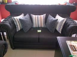 home and furniture chesterfield. a set of chesterfield fabric sofa home furniture and dcor for sale at lagos mainland