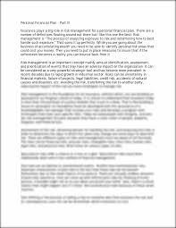 personal finance essay personal finance essay