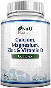 <b>Calcium</b>, <b>Magnesium</b>, Zinc & <b>Vitamin</b> D Supplement   365 ...