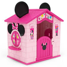 <b>Disney Minnie Mouse</b> Plastic Indoor/Outdoor Playhouse with Easy ...