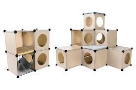 tree house for cats images amp pictures of cats in cubes modular cat condo furniture diy amazoncom furniture 62quot industrial wood