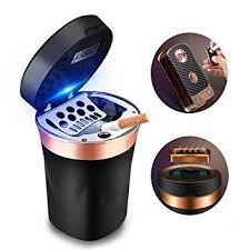 SOLARXIA Car Ashtray, Auto Ashtray Cigar Electronic ... - Amazon.com
