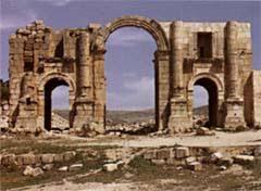 Jerash Hedrian Arch
