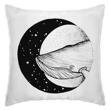 Подушка кит в космосе #406759 в Москве – печать фото на ...