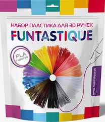 <b>Комплект PLA-пластика Funtastique для</b> 3D-ручек - 7 цветов, PLA ...