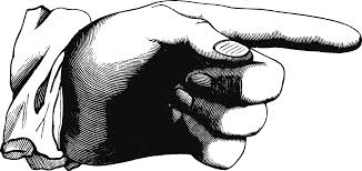 Image result for cartoon picture of pointing finger