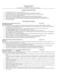 gym s resume sample resume fitness s