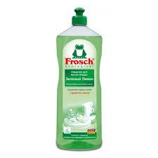 <b>Средство для мытья</b> посуды <b>FROSCH</b> ФРОШ Зеленый Лимон 1 л ...