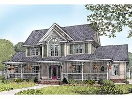 Victorian House Plans   The House Plan ShopCountry Victorian Home  H