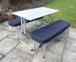 get price for <b>Camping Table</b> / Picnic Table with Two Padded Benches