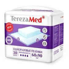 Пеленки <b>TerezaMed Super</b>, 60x90 см, 30 шт - цены Comfer ...