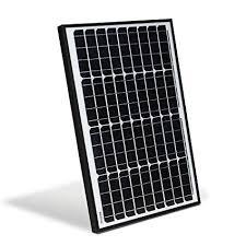 ALEKO SP40W12V 40 Watt <b>12 Volt</b> Monocrystalline <b>Solar Panel</b>