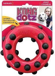 <b>Игрушка Kong Dotz</b> кольцо для собак - купить в ЮниЗоо в Москве ...