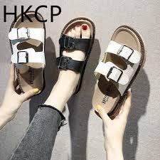 <b>HKCP Fashion</b> 2019 Summer New <b>Women'S</b> Casual Gladiator ...
