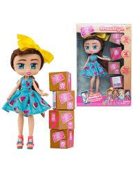 <b>Кукла Boxy</b> Girls Brooklyn 20 см. с аксессуарами <b>1Toy</b> 6717445 в ...
