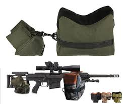 Military Sniper <b>Shooting</b> Rifle Bag <b>Front&Rear</b> Support <b>Sandbag</b> ...