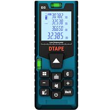 DTAPE D3 <b>Digital</b> Laser 40m <b>60m 80m 100m</b> Rangefinder Distance ...