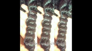 3 Strand Twist Out on <b>Medium Length</b> Natural <b>Hair</b> ft. Blue <b>Magic</b> ...