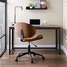Volans Home Office Chair, Modern Bentwood and ... - Amazon.com