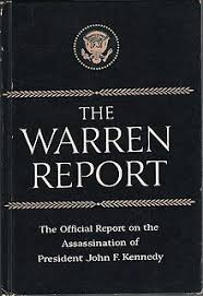 「Chief Justice Warren, report 」の画像検索結果