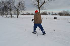 plenty of ways to stay active during winter in local area news haley gustafson daily press escanaba resident pat rogers enjoys ludington park on his cross country