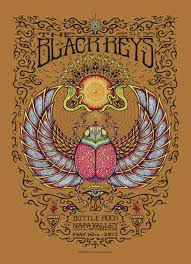 Marq Spusta <b>The Black Crowes, Black</b> Keys and Soungarden Poster ...