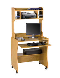 white hidden home office computer cream maple wood computer desk with keyboard drawer and open shelf captivating home office desktop