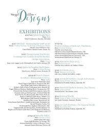 exhibitions artist s resume maggie dillon designs artisi artist