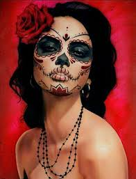 day of the dead inspiration for ilration project