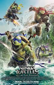 Teenage Mutant Ninja Turtles: Out of the Shadows 2016