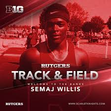 com mens track and field announces signing semaj willis
