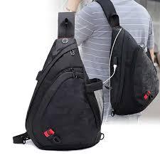 2019 Leisure <b>Men Chest Bag</b> Fashion Small <b>Man</b> Messenger Bag ...