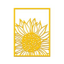 <b>Eastshape</b> Sunflower Background <b>Metal Cutting Dies</b> Scrapbooking ...