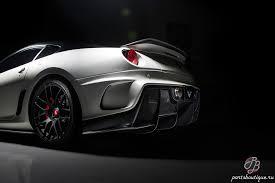 <b>Карбоновый спойлер</b> на крышку багажника Vorsteiner Ferrari 599 ...