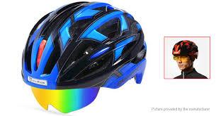 <b>ROCKBROS</b> Outdoor Bicycle <b>Cycling Helmet</b> w/ <b>Goggles</b>