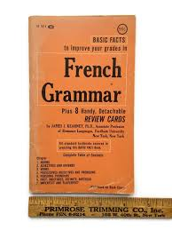 french grammar basic facts to improve your grades plus handy french grammar basic facts to improve your grades plus 8 handy detachable review cards
