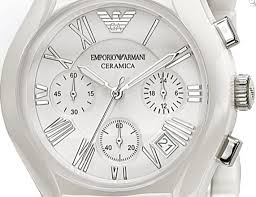 emporio armani ar1403 gents white ceramic round white dial watch armani ar1403 gents white ceramic round white dial watch