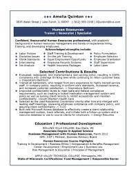employment resume services hr resume service
