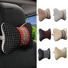 ZJ-<b>Creative</b> 3D Bone Shaped Stuffed Car Neck <b>Headrest Pillow</b> Soft ...