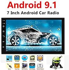 Binize Android 9.1 <b>7 Inch</b> HD Quad-Core 2 Din <b>Car Stereo</b> Radio