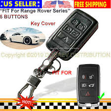 <b>5 Buttons</b> Leather Case Protector Fob Cover Smart <b>Car Remote</b> for ...