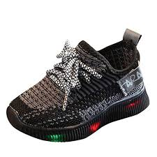 new fashion child casual shoes flash led light up sneakers sequins luminous glowing boots toddlers boys girls sport