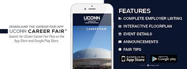 career fairs uconn center for career development web banner