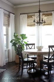 Dining Room Curtain 1000 Ideas About Dining Room Curtains On Pinterest Dining Rooms
