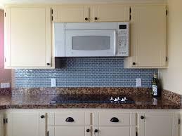 engaging modern kitchens blue marine subway tile