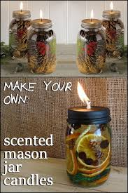 jar crafts home easy diy: fill your home with wonderful aromas by making these diy scented mason jar candles is