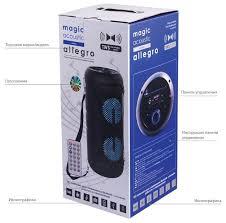 Купить <b>Колонка Magic</b> Acoustik с Bluetooth BK1001 Allegro ...